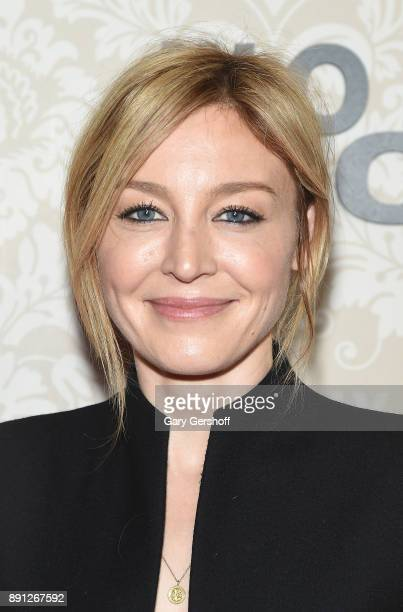 Actress Juliet Rylance attends the Wormwood New York premiere on December 12 2017 in New York City