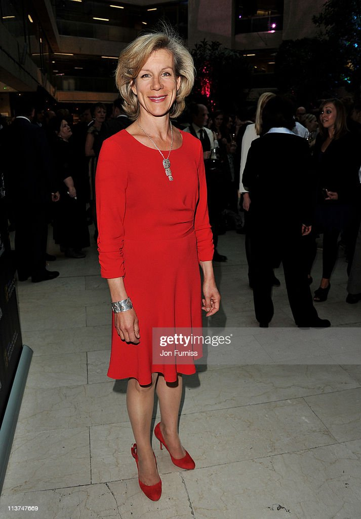 Actress Juliet Stevenson attends the nominees party for 'The Philips British Academy Television and British Academy Television Craft Awards' at Coutts Bank on May 5, 2011 in London, England.