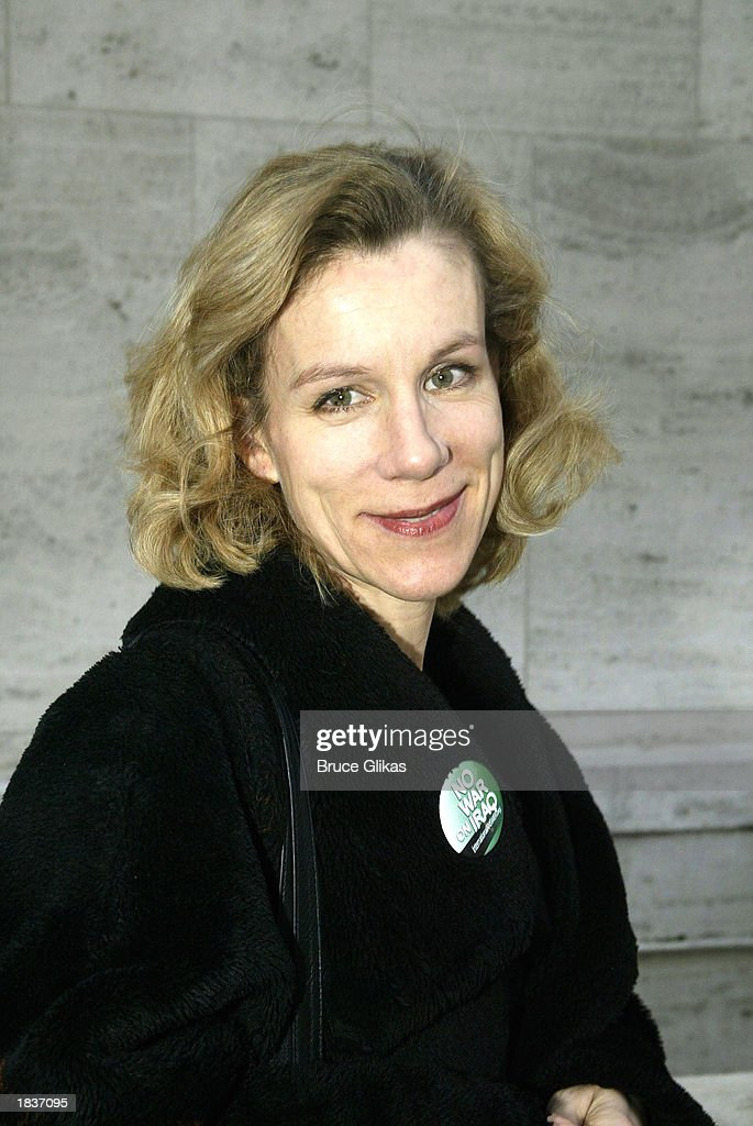 Actress Juliet Stevenson, who plays 'Desireee Armfeldt' in the New York City Opera's production of Stephen Sondheim's 'A Little Night Music', poses after the opening weekend at The New York State Theater at the Lincoln Center on March 8, 2003 in New York City.