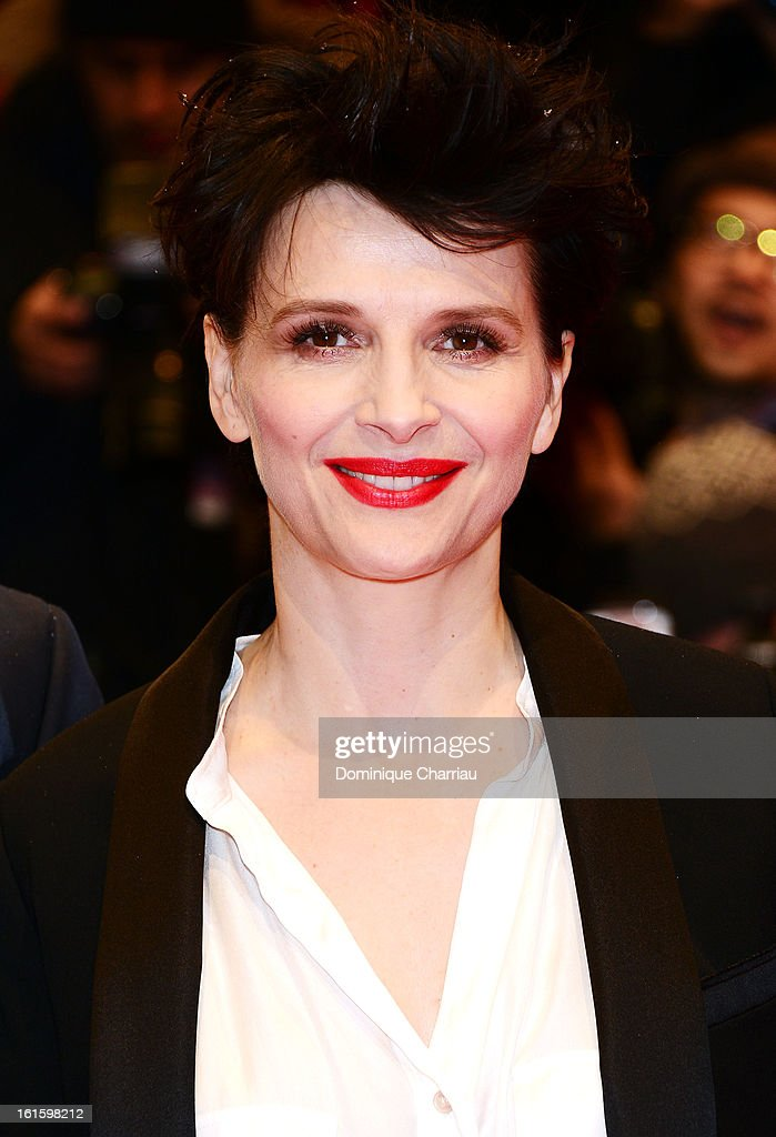 Actress Juliette Binoche attends the 'Camille Claudel 1915' Premiere during the 63rd Berlinale International Film Festival at Berlinale Palast on February 12, 2013 in Berlin, Germany.