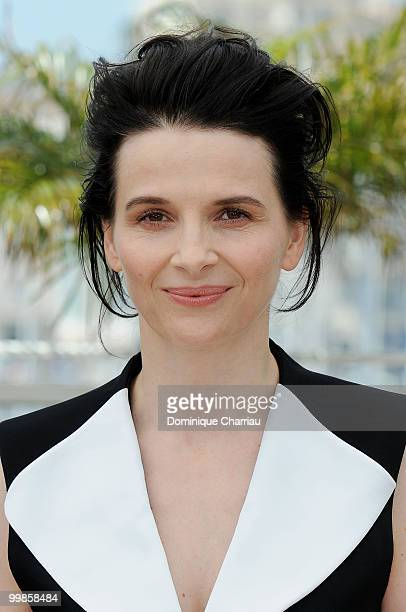Actress Juliette Binoche attends the 'Certified Copy' Photo Call held at the Palais des Festivals during the 63rd Annual International Cannes Film...