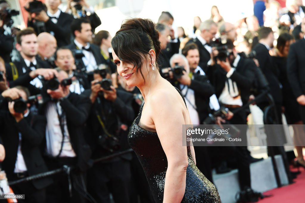 Actress Juliette Binoche attends the Closing Ceremony of the 70th annual Cannes Film Festival at Palais des Festivals on May 28, 2017 in Cannes, France.