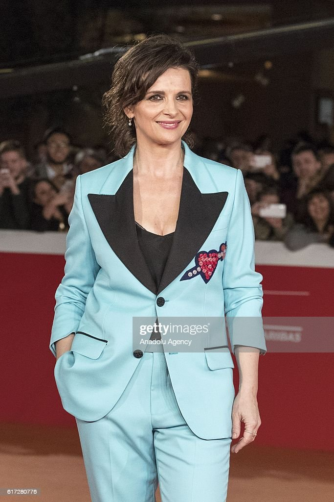 Actress Juliette Binoche attends the premiere of the movie 'The English Patient' during 11th Rome Film Festival at Auditorium Parco della Musica in Rome, Italy on October 22, 2016.