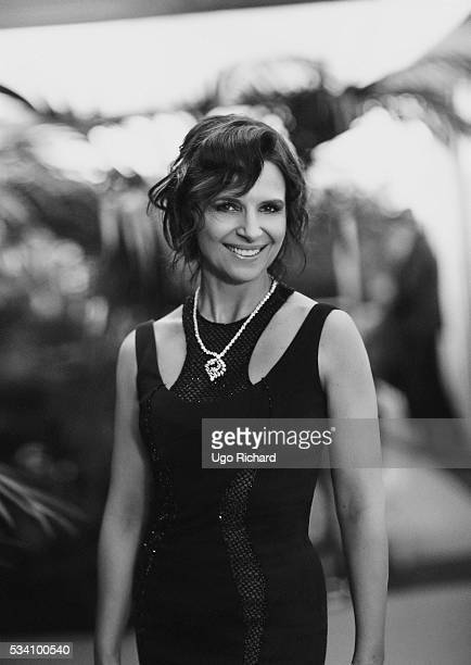 Actress Juliette Binoche is photographed for Gala on May 15 2016 in Cannes France