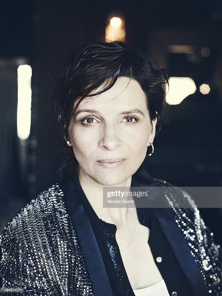 Juliette Binoche, Self Assignment, May 2014