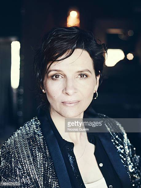 Actress Juliette Binoche is photographed for Self Assignment on May 20 2014 in Cannes France