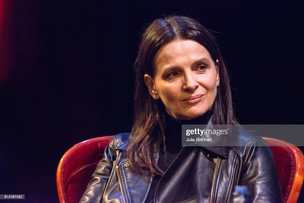 Actress Juliette Binoche is the honorary guest at the Gothenburg International Film Festival 2018 which screened a retrospective of her work during the festival. As part of her visit she participates in a masterclass at Stora Teatern on February 4, 2018 in Gothenburg, Sweden.