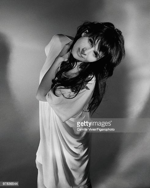 Actress Juliette Binoche poses at a portrait session in Paris France for Madame Figaro Published image CREDIT MUST READ Camille...