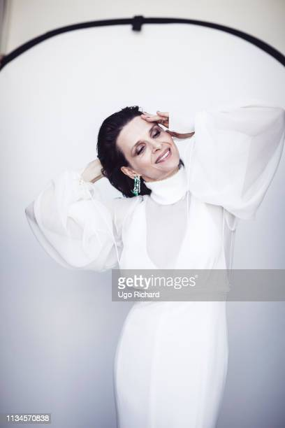 Actress Juliette Binoche poses for a portrait on May, 2017 in Cannes, France. . .
