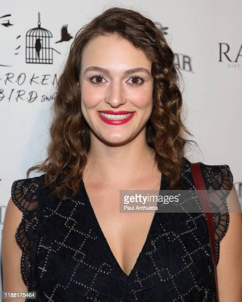 Actress Juliette Hourani attends the media night preview of BROKEN Code BIRD Switching at S Feury Theater on November 16 2019 in Los Angeles...