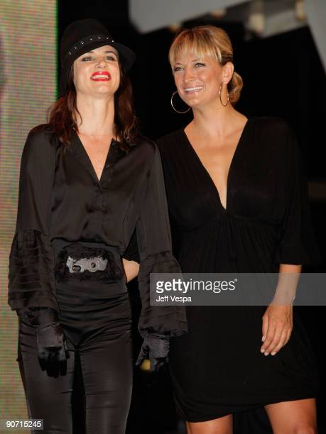 Actress Juliette Lewis and actress Zoe Bell attend theWhip It Premiere at the Ryerson Theatre during the 2009 Toronto International Film Festival on...