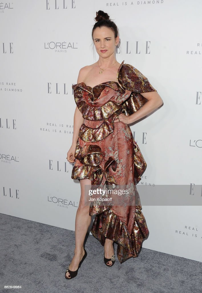 Actress Juliette Lewis arrives at ELLE's 24th Annual Women in Hollywood Celebration at Four Seasons Hotel Los Angeles at Beverly Hills on October 16, 2017 in Los Angeles, California.