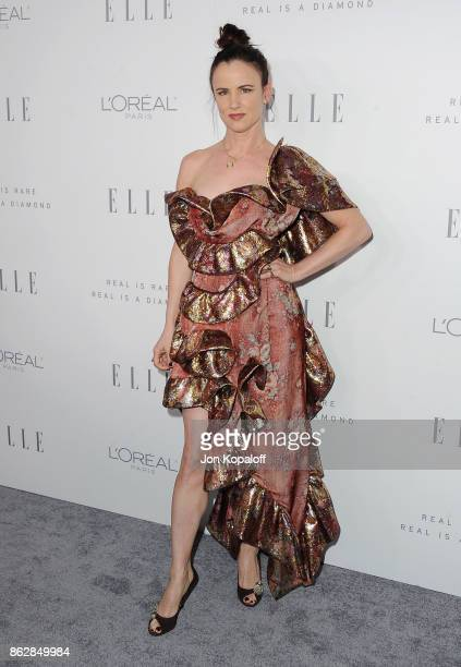 Actress Juliette Lewis arrives at ELLE's 24th Annual Women in Hollywood Celebration at Four Seasons Hotel Los Angeles at Beverly Hills on October 16...