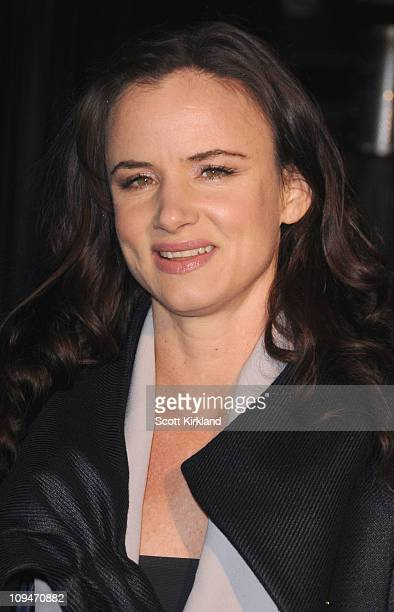 Actress Juliette Lewis arrives at the Chanel Charles Finch PreOscar Dinner Celebrating Fashion Film at Madeo Restaurant on February 26 2011 in Los...