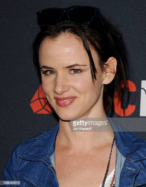 Actress Juliette Lewis arrives at the Gucci And RocNation Host PreGrammy Brunch At Soho House at Soho House on February 12 2011 in West Hollywood...