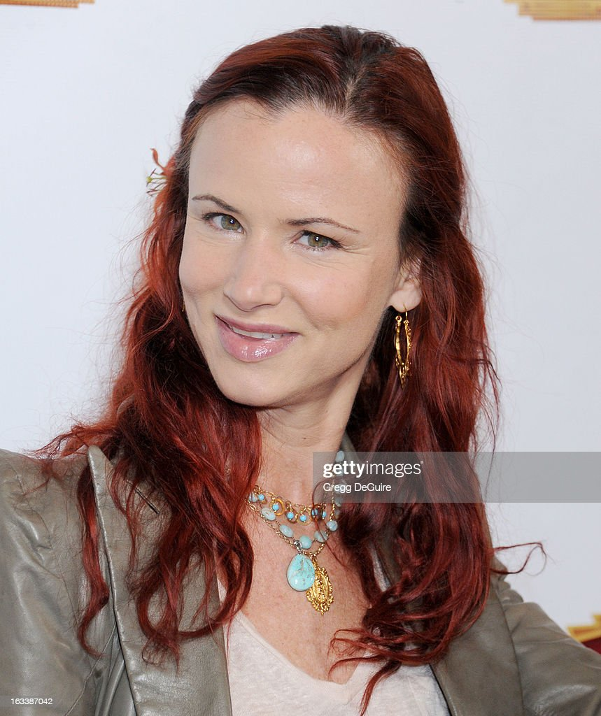 Actress Juliette Lewis arrives at the Los Angeles opening night of 'Mike Tyson - Undisputed Truth' at the Pantages Theatre on March 8, 2013 in Hollywood, California.