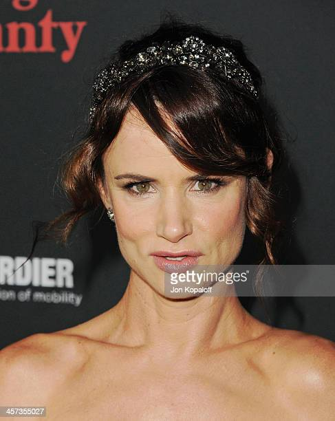 Actress Juliette Lewis arrives at the Los Angeles Premiere August Osage County at Regal Cinemas LA Live on December 16 2013 in Los Angeles California