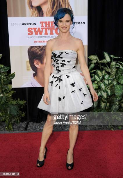 Actress Juliette Lewis arrives at the premiere of Miramax's The Switch held at Arclight Hollywood at the Cinerama Dome on August 16 2010 in Los...