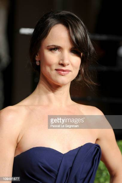 Actress Juliette Lewis arrives at the Vanity Fair Oscar party hosted by Graydon Carter held at Sunset Tower on February 27 2011 in West Hollywood...