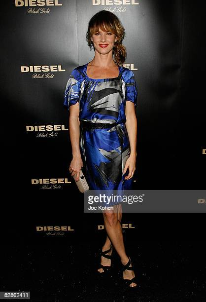 actress Juliette Lewis attends Diesel Black Gold Spring 2009 at The Tent Bryant Park on September 8 2008 in New York City