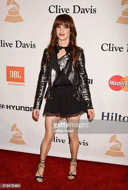 Actress Juliette Lewis attends the 2016 PreGRAMMY Gala and Salute to Industry Icons honoring Irving Azoff at The Beverly Hilton Hotel on February 14...
