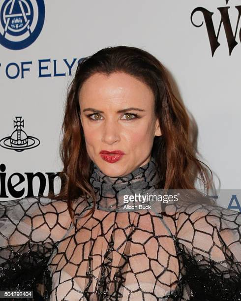 Actress Juliette Lewis attends The Art of Elysium 2016 HEAVEN Gala presented by Vivienne Westwood Andreas Kronthaler at 3LABS on January 9 2016 in...