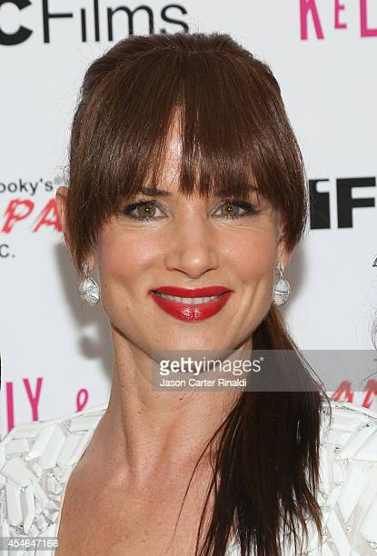 Actress Juliette Lewis attends the Kelly And Cal New York Screening at Crosby Street Hotel on September 4 2014 in New York City