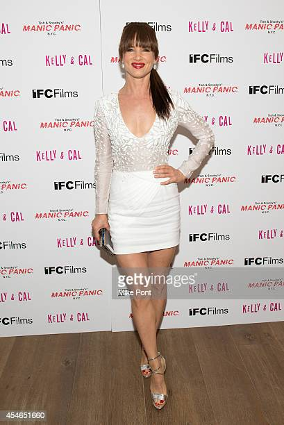 Actress Juliette Lewis attends the 'Kelly And Cal' New York Screening at Crosby Street Hotel on September 4 2014 in New York City