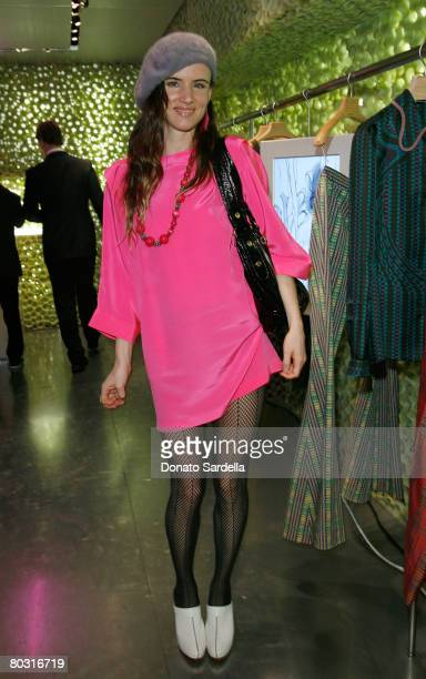 Actress Juliette Lewis attends the Los Angeles screening of Trembled Blossoms presented by Prada on March 19 2008 in Beverly Hills California
