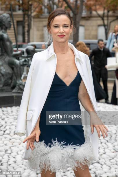 Actress Juliette Lewis attends the Miu Miu show as part of the Paris Fashion Week Womenswear Spring/Summer 2019 on October 2 2018 in Paris France