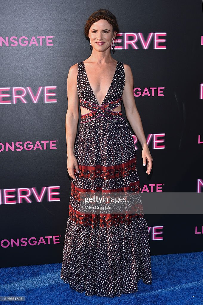 Actress Juliette Lewis attends the 'Nerve' New York Premiere at SVA Theater on July 12, 2016 in New York City.