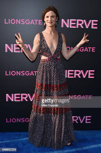 Actress Juliette Lewis attends the Nerve New York Premiere at SVA Theater on July 12 2016 in New York City