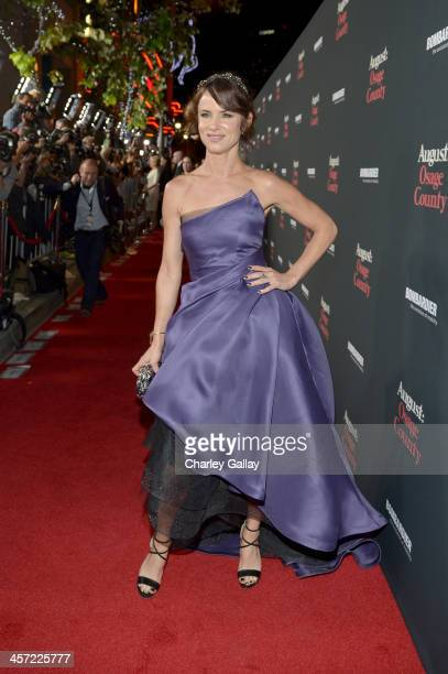 """Actress Juliette Lewis attends the LA premiere Of """"August: Osage County"""" presented by The Weinstein Company in partnership with Bombardier at Regal..."""