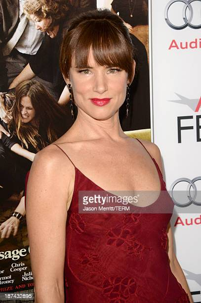 Actress Juliette Lewis attends the premiere of The Weinstein Company's 'August Osage County' during AFI FEST 2013 presented by Audi at TCL Chinese...