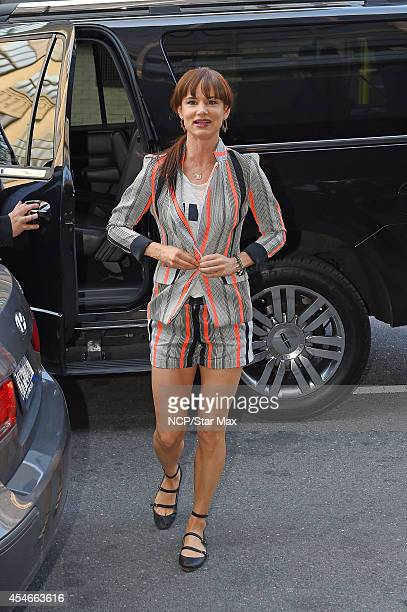 Actress Juliette Lewis is seen on September 4 2014 in New York City