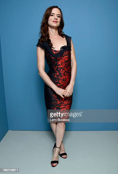Actress Juliette Lewis of 'August Osage County' poses at the Guess Portrait Studio during 2013 Toronto International Film Festival on September 10...