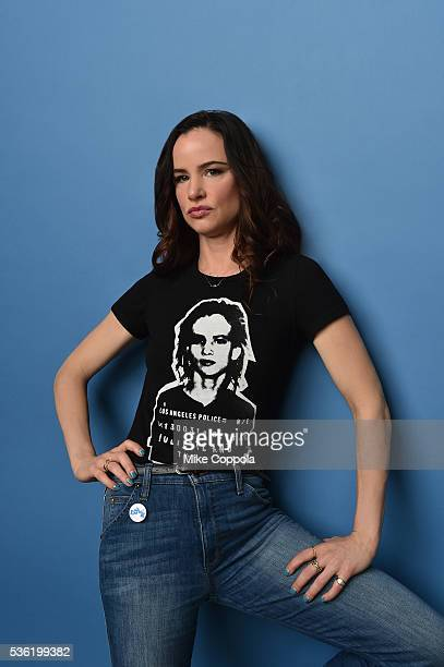 Actress Juliette Lewis poses for a portrait at the Tribeca Film Festival on April 14 2016 in New York City