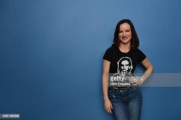 Actress Juliette Lewis poses for a portrait at the Tribeca Film Festival on April 14, 2016 in New York City.