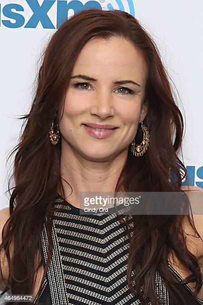Actress Juliette Lewis Visits The Siriusxm Studios On March 2 2015 In New York City