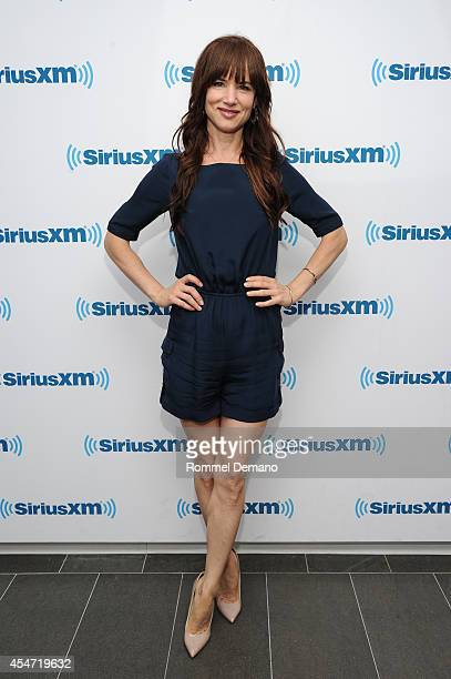 Actress Juliette Lewis vists at SiriusXM Studios on September 5, 2014 in New York City.