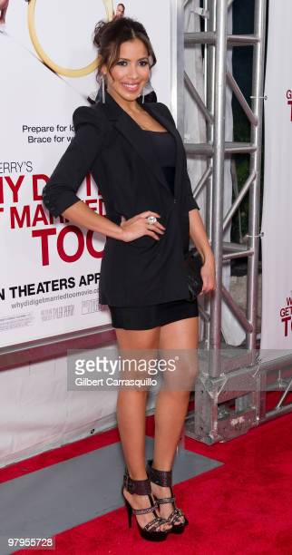 Actress Julissa Bermudez attends the special screening of 'Why Did I Get Married Too' at the School of Visual Arts Theater on March 22 2010 in New...