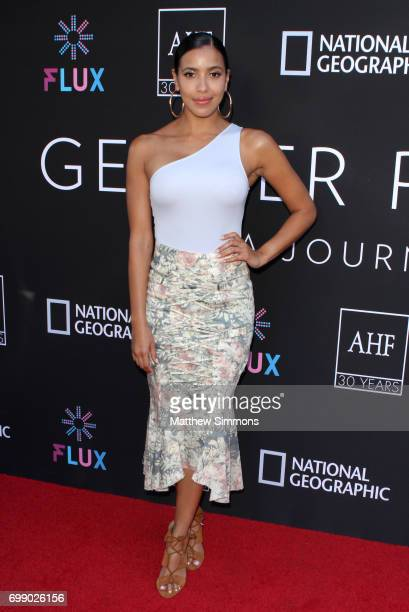 Actress Julissa Bermudez attends Trans Talk A Conversation About Identity at NeueHouse Hollywood on June 20 2017 in Los Angeles California