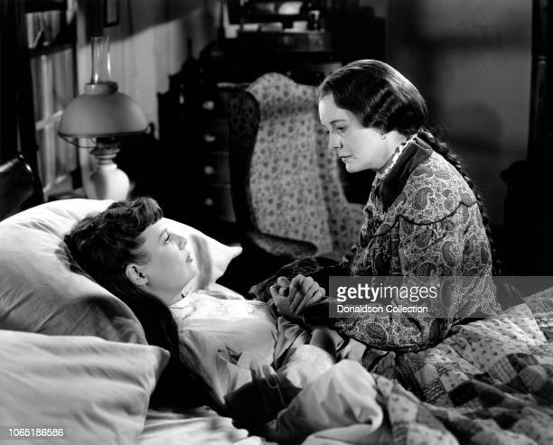Actress June Allyson and Mary Astor in a scene from the movieLittle Women