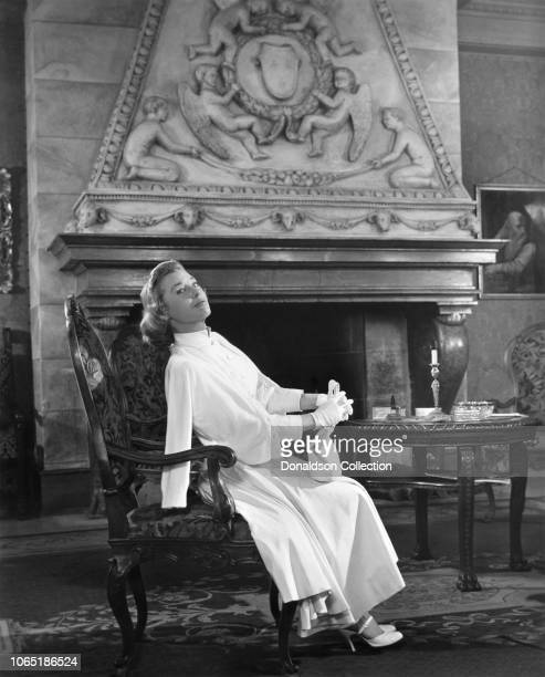 """Actress June Allyson in a scene from the movie""""Interlude"""""""