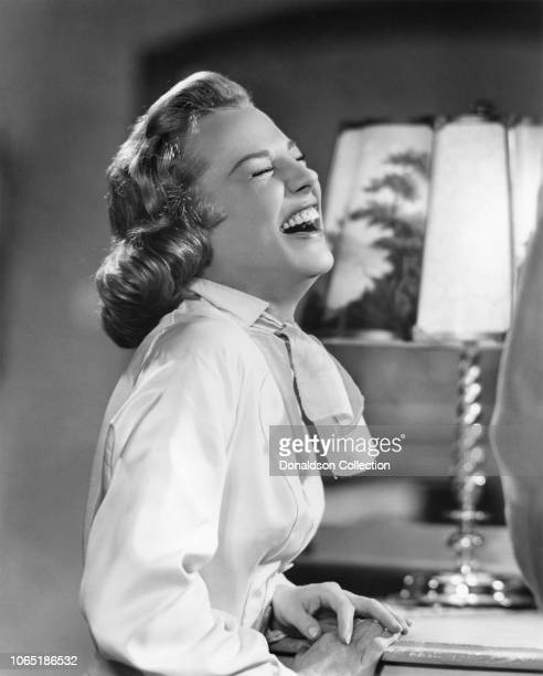 Actress June Allyson in a scene from the movieInterlude