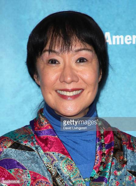Actress June Angela attends the opening night of 'Soft Power' presented by the Center Theatre Group at the Ahmanson Theatre on May 16 2018 in Los...