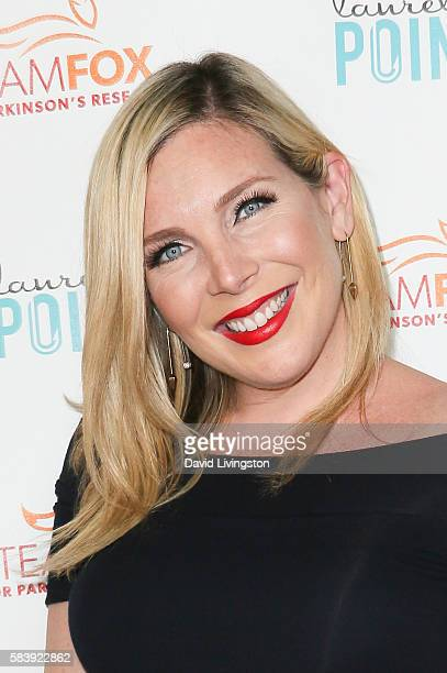 Actress June Diane Raphael arrives at Raising The Bar To End Parkinson's at Laurel Point on July 27 2016 in Studio City California