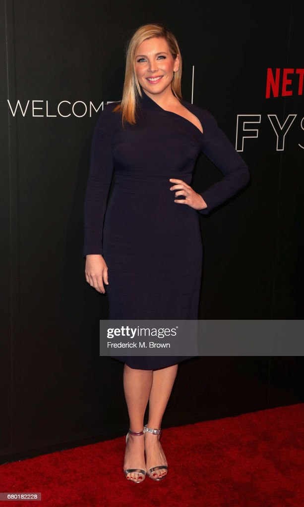 Actress June Diane Raphael arrives at the Netflix FYSee Kick Off Event at Netflix FYSee Space on May 7, 2017 in Beverly Hills, California.