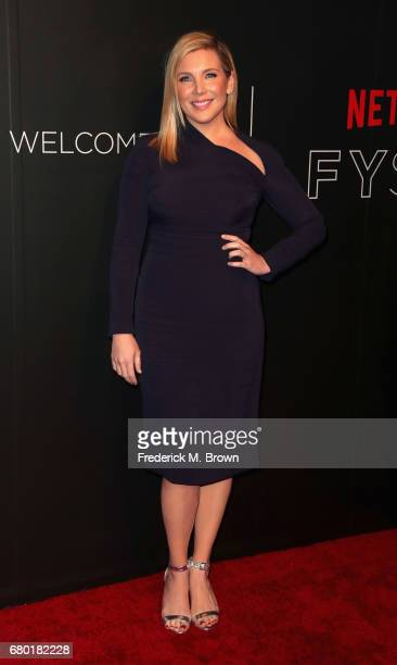 Actress June Diane Raphael arrives at the Netflix FYSee Kick Off Event at Netflix FYSee Space on May 7 2017 in Beverly Hills California