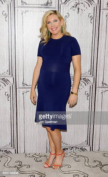 Actress June Diane Raphael attends AOL Build Presents June Diane Raphael and Brooklyn Decker of Grace And Frankie at AOL Studios on May 23 2016 in...